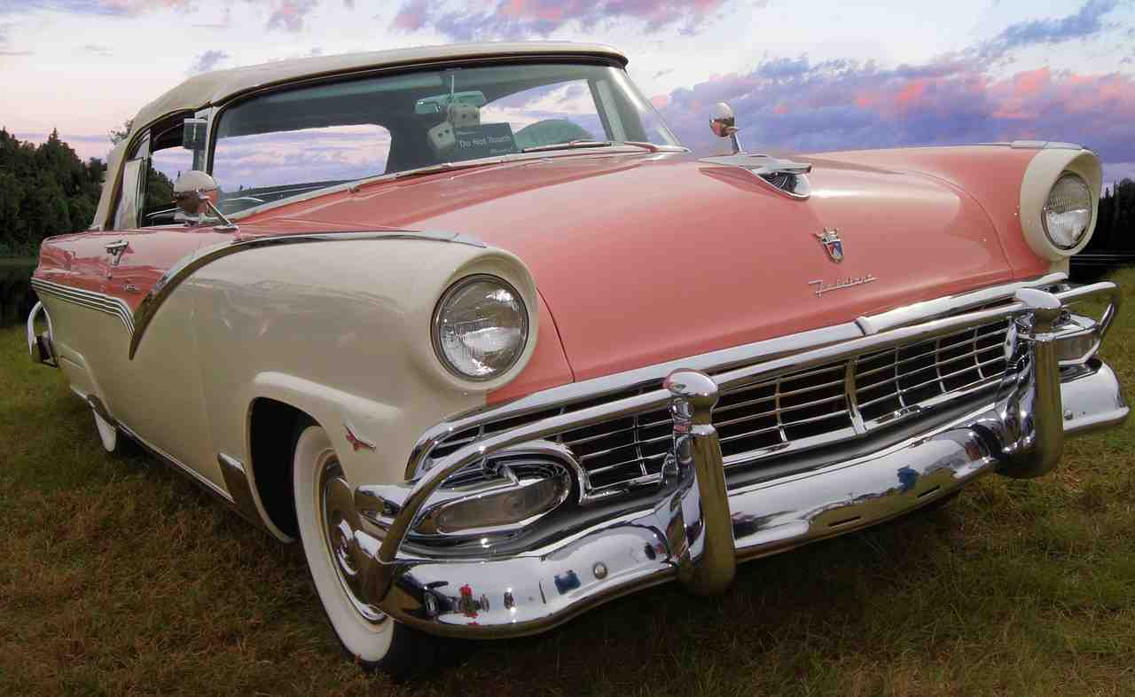ford fairlane, voiture classique, ford